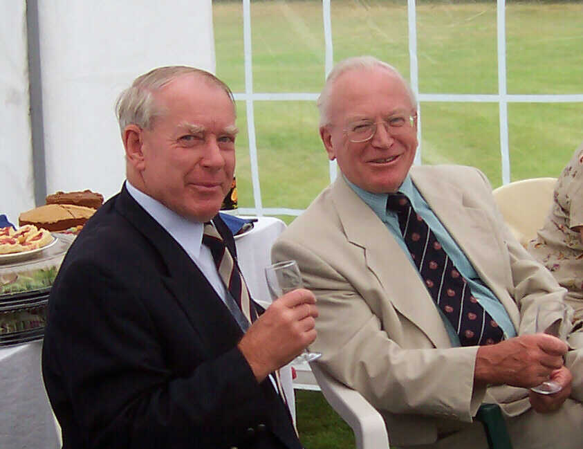 Celebrating George Baxter's MBE 24 Aug 2004